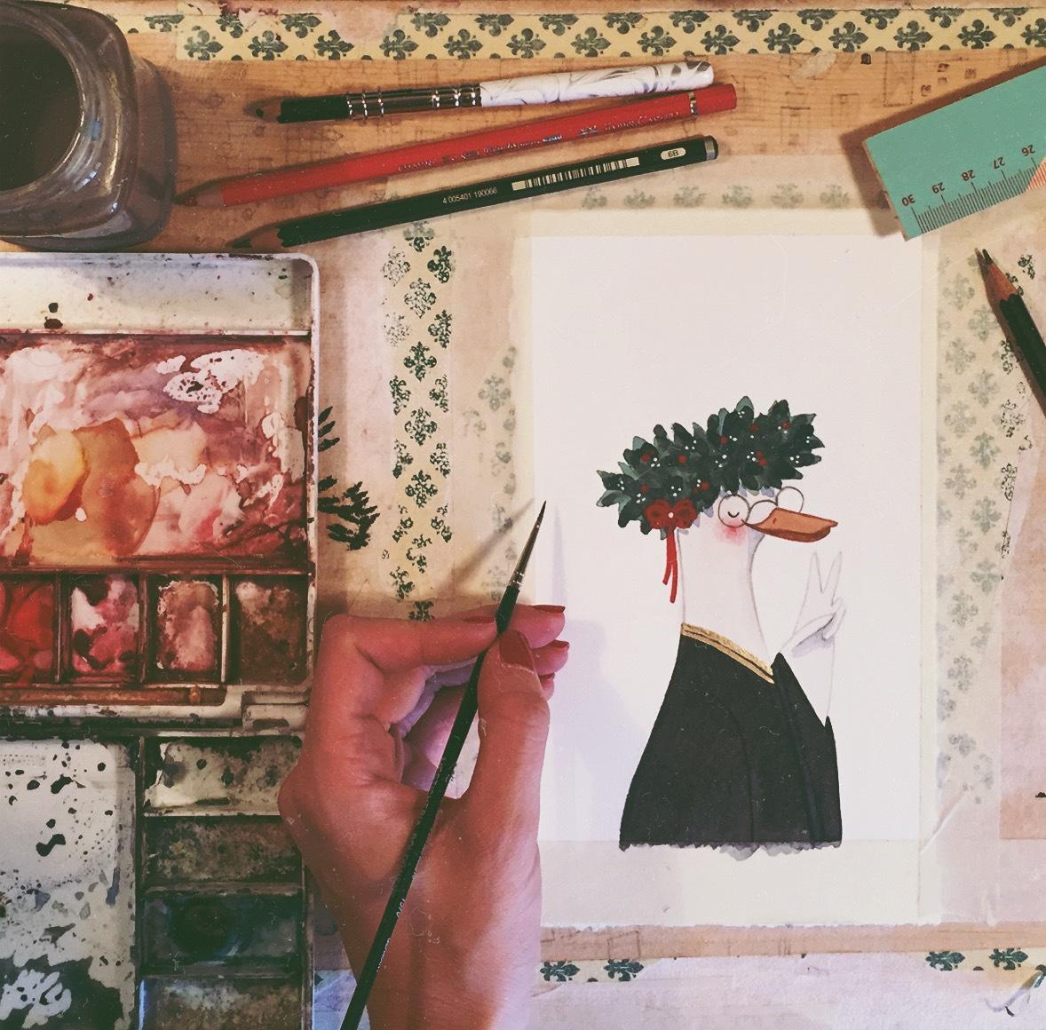 illustrazioni per bomboniere
